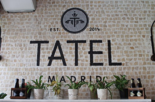 Tatel afternoon tea Madrid