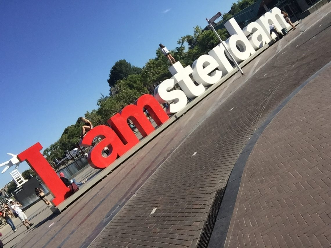 The I Amsterdam sign
