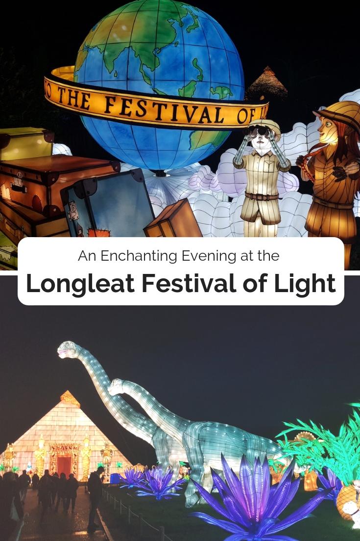 Longleat Festival of Light pin