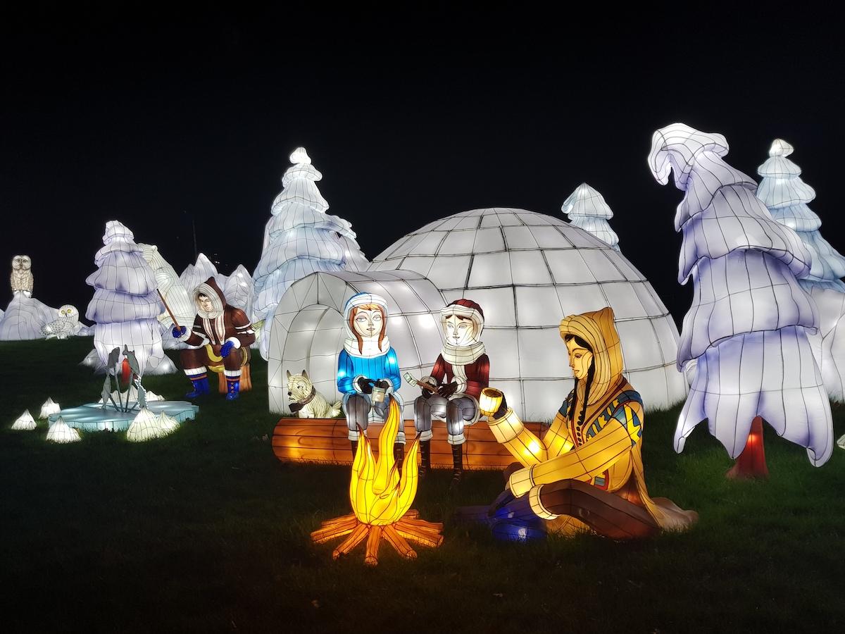 Longleat Festival of Light 2018