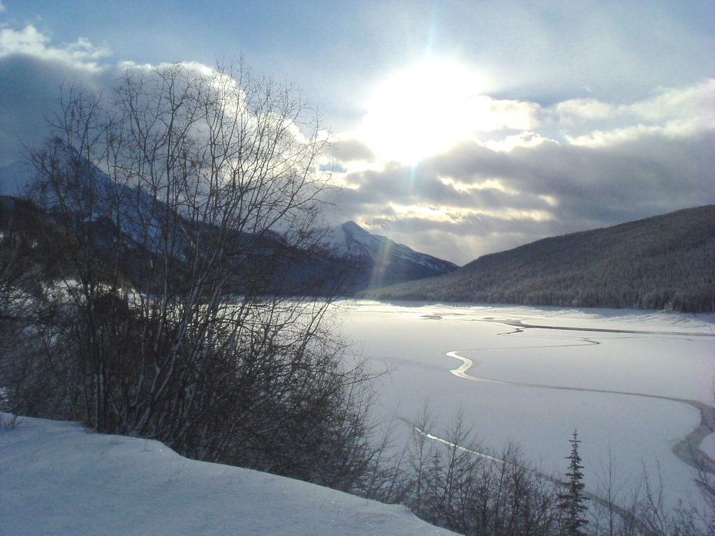 Canadian rockies Winter holiday destinations - winter wonderlands Ladies What Travel