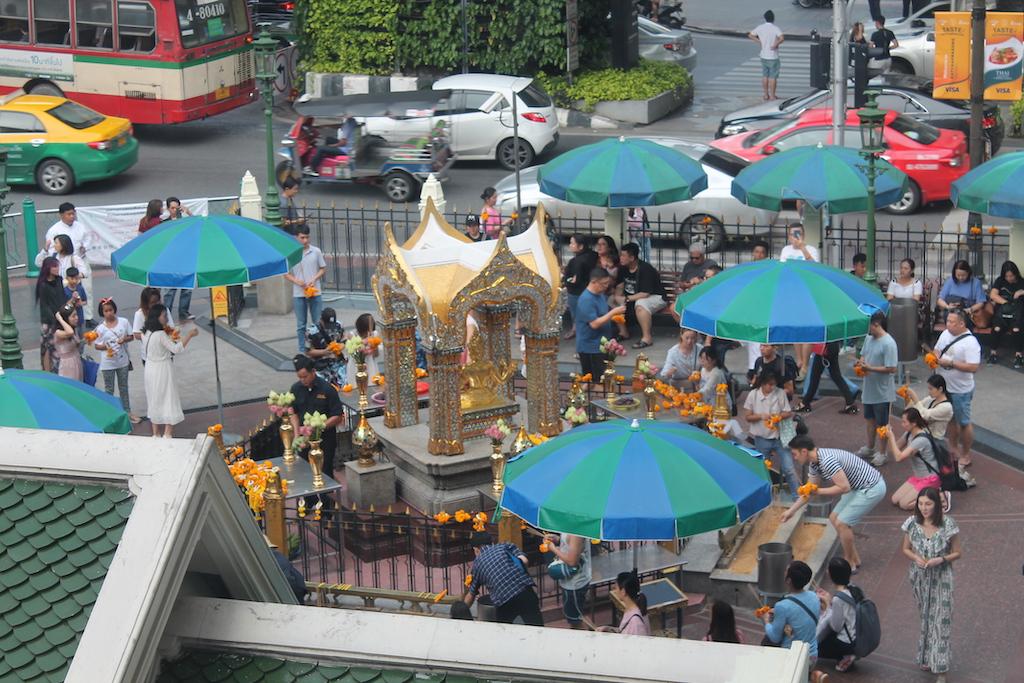 Grand Hyatt Bangkok Erawan Tea Room - afternoon Tea - ladies what travel