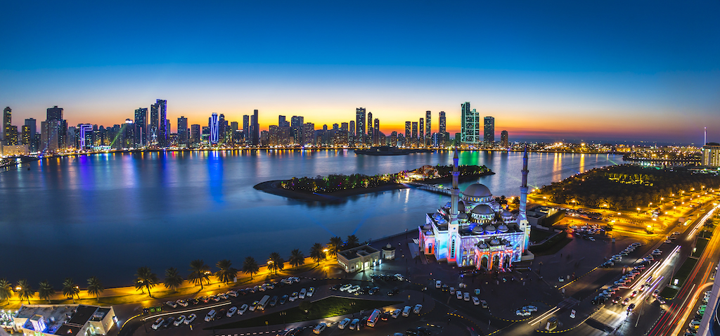 Sharjah Lights Festival - UAE- where to visit in 2019 and why - Ladies What Travel Image credit Sharjah Commerce & Tourism Development Authority (SCTDA)