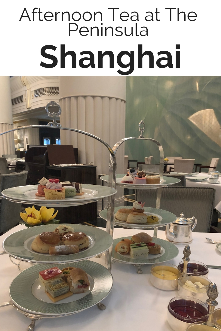 Afternoon Tea at The Peninsula Shanghai