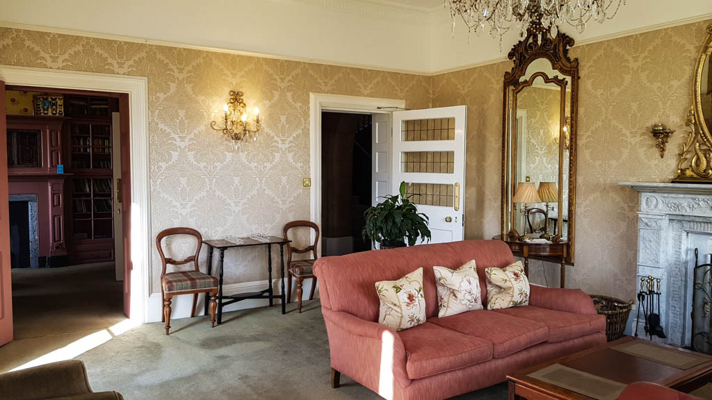 Lounge at Highbullen Hotel