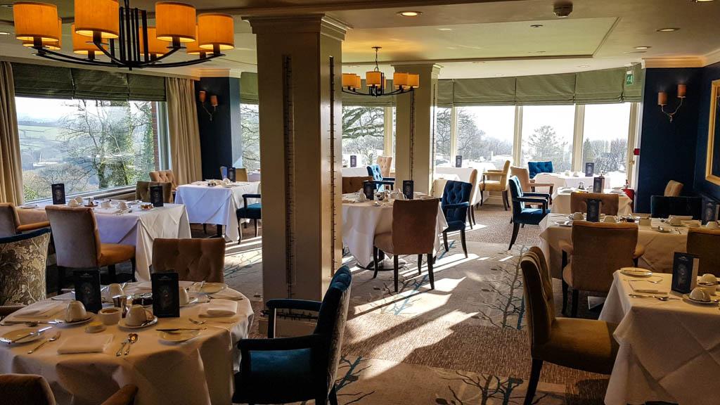 Devon View Restaurant at Highbullen Hotel