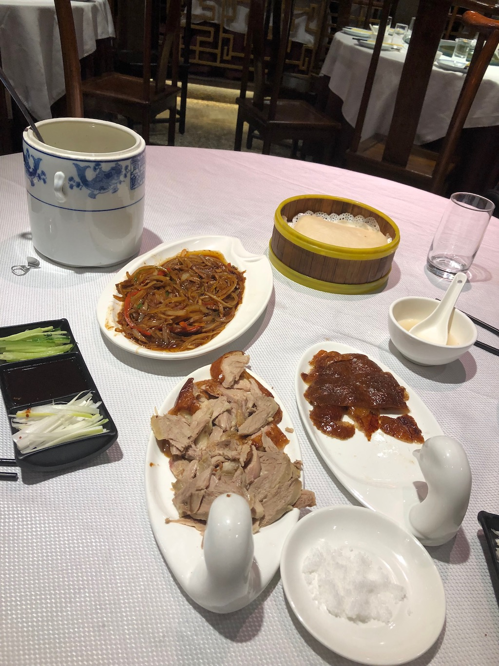 What to eat in shanghai peking duck