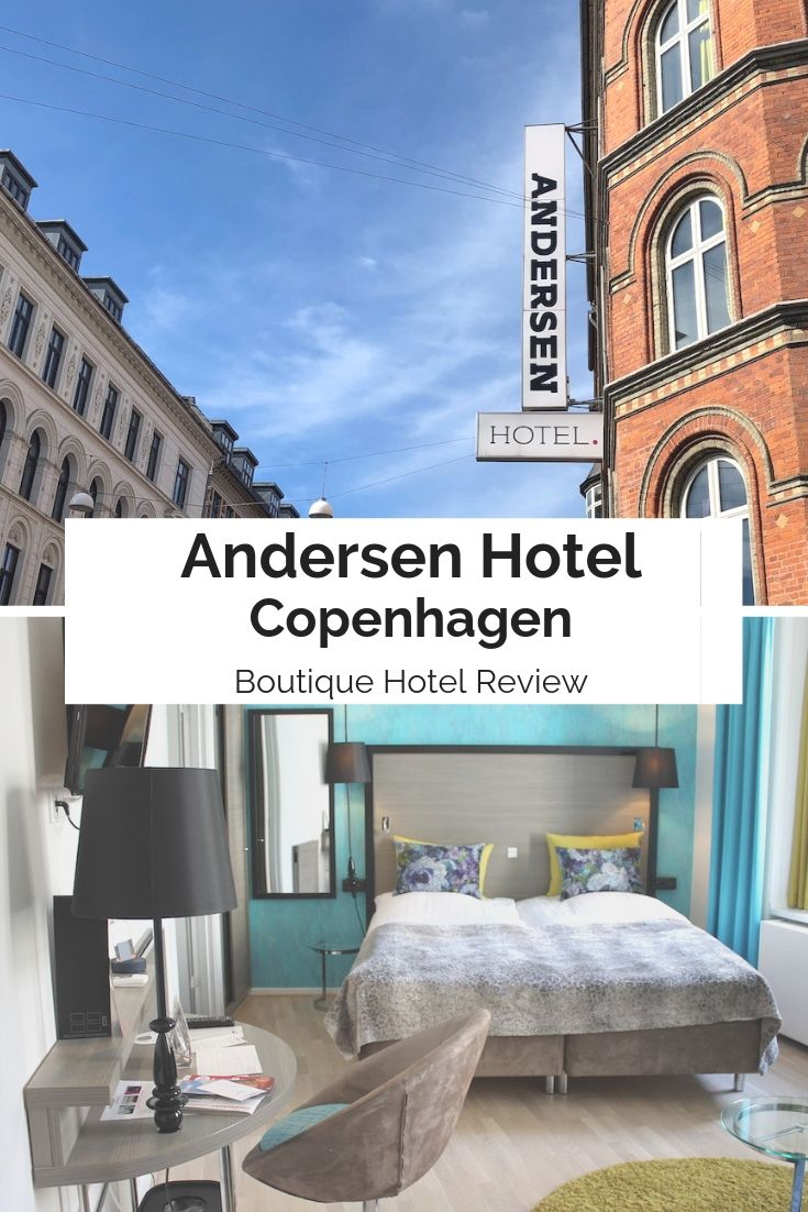 A review of The Andersen, a boutique hotel in the heart of Copenhagen | Ladies What Travel #copenhagen #hotelreview #travel