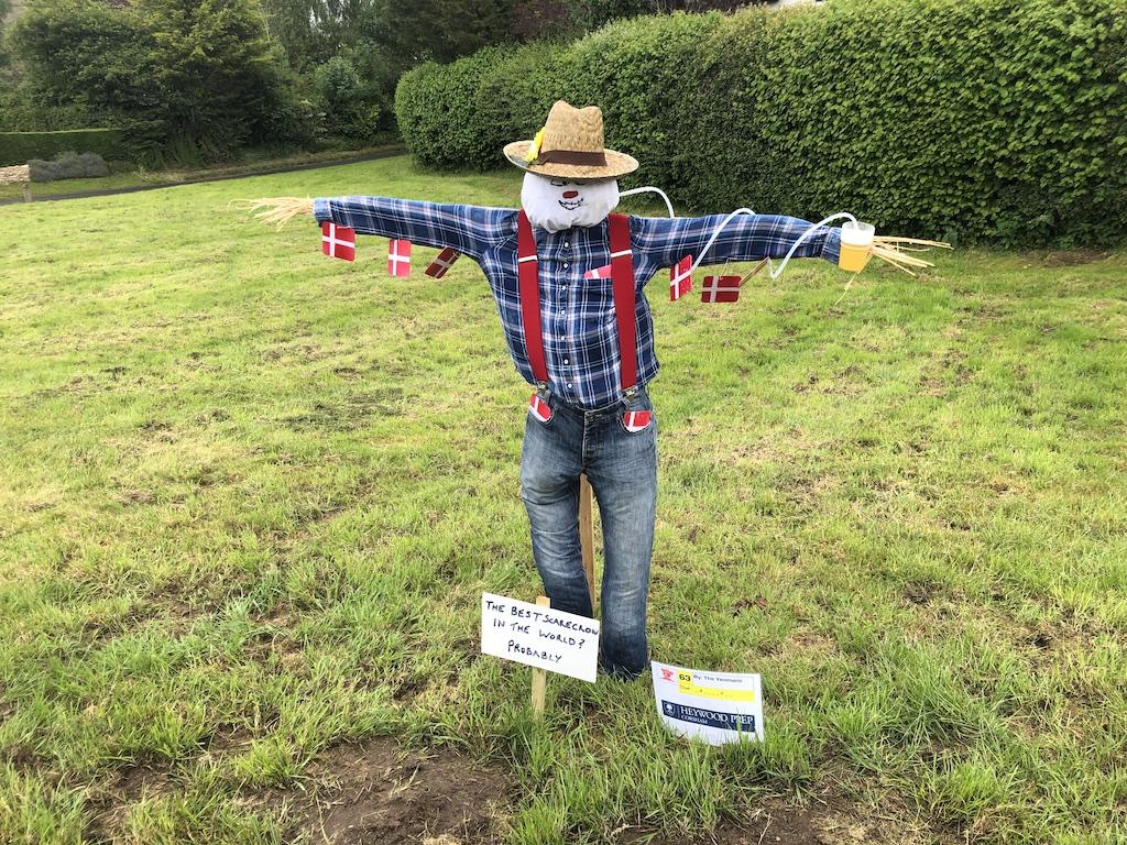 Wiltshire scarecrow festivals - Kington Langley scarecrow festival