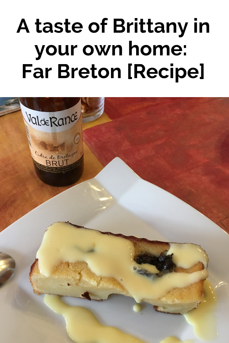 A taste of Brittany in your own home: Far Breton