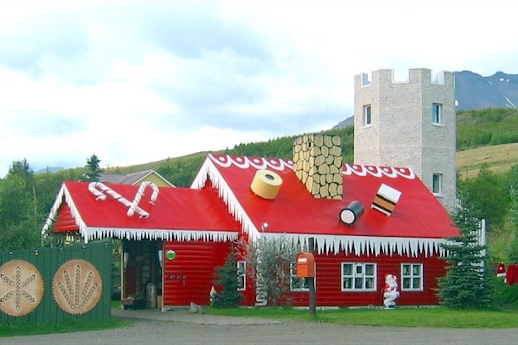 Places to Visit near Akureyri, Northern Iceland Christmas Garden Image credit Visit North Iceland.