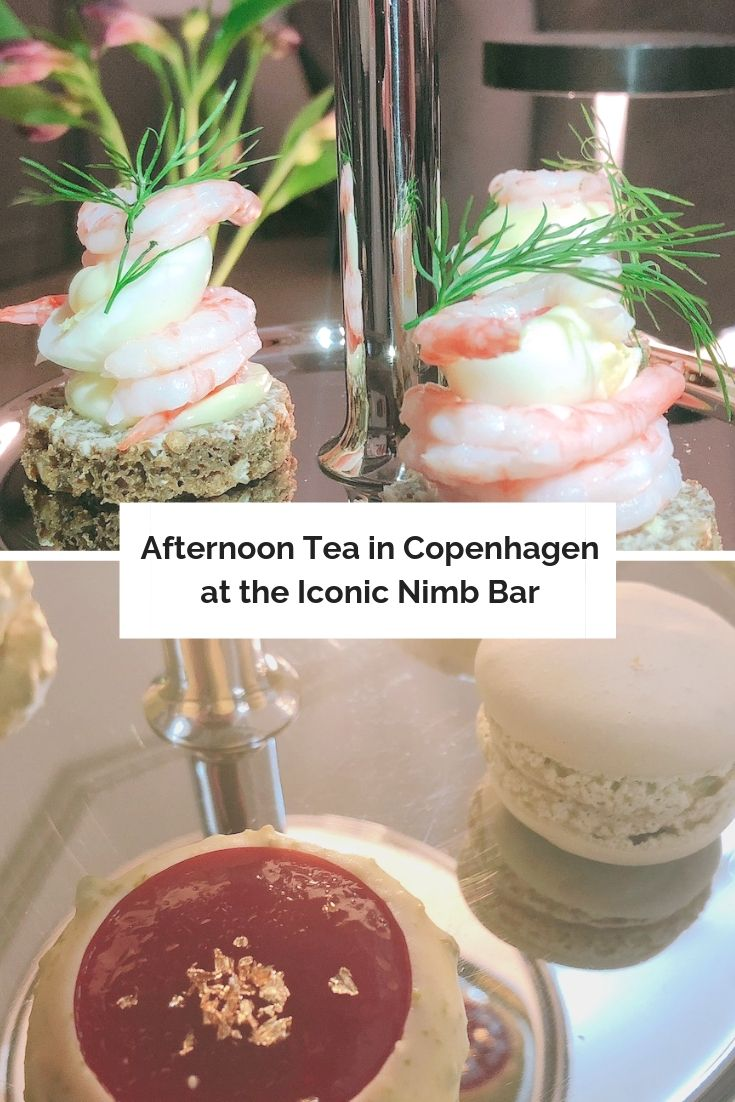 Afternoon tea in Copenhagen nimb bar pin