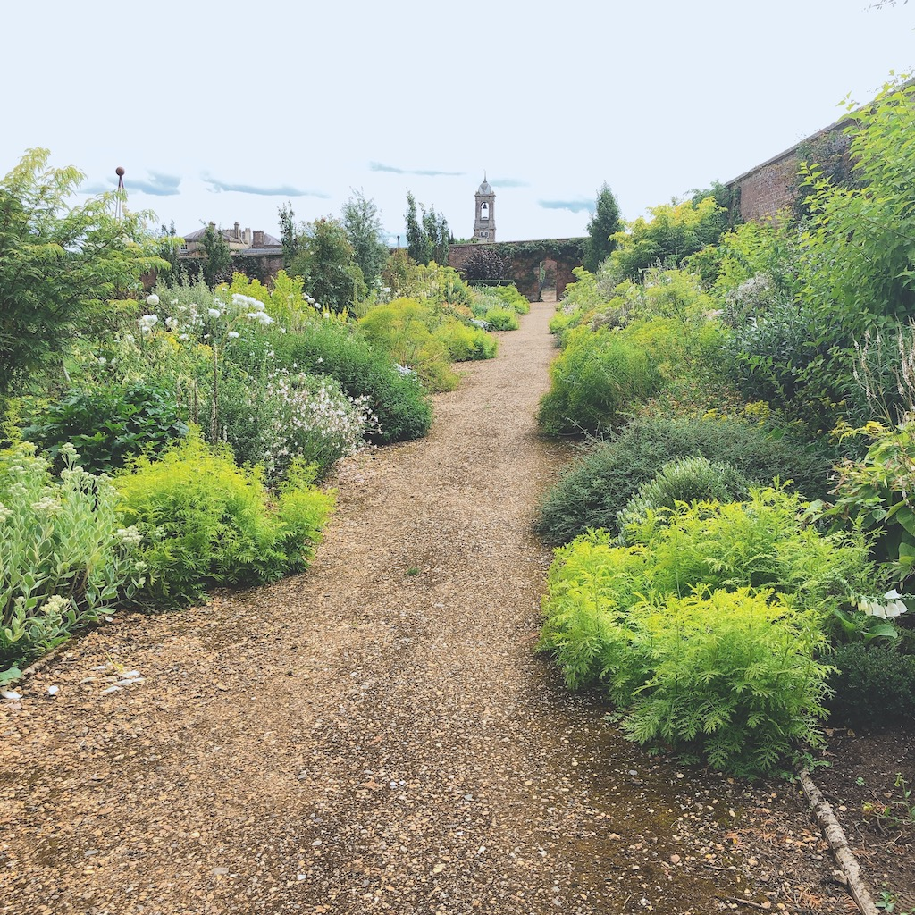 bowood house's private walled gardens