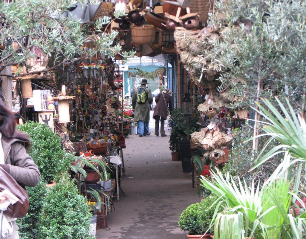 Marché aux fleurs/Flower market