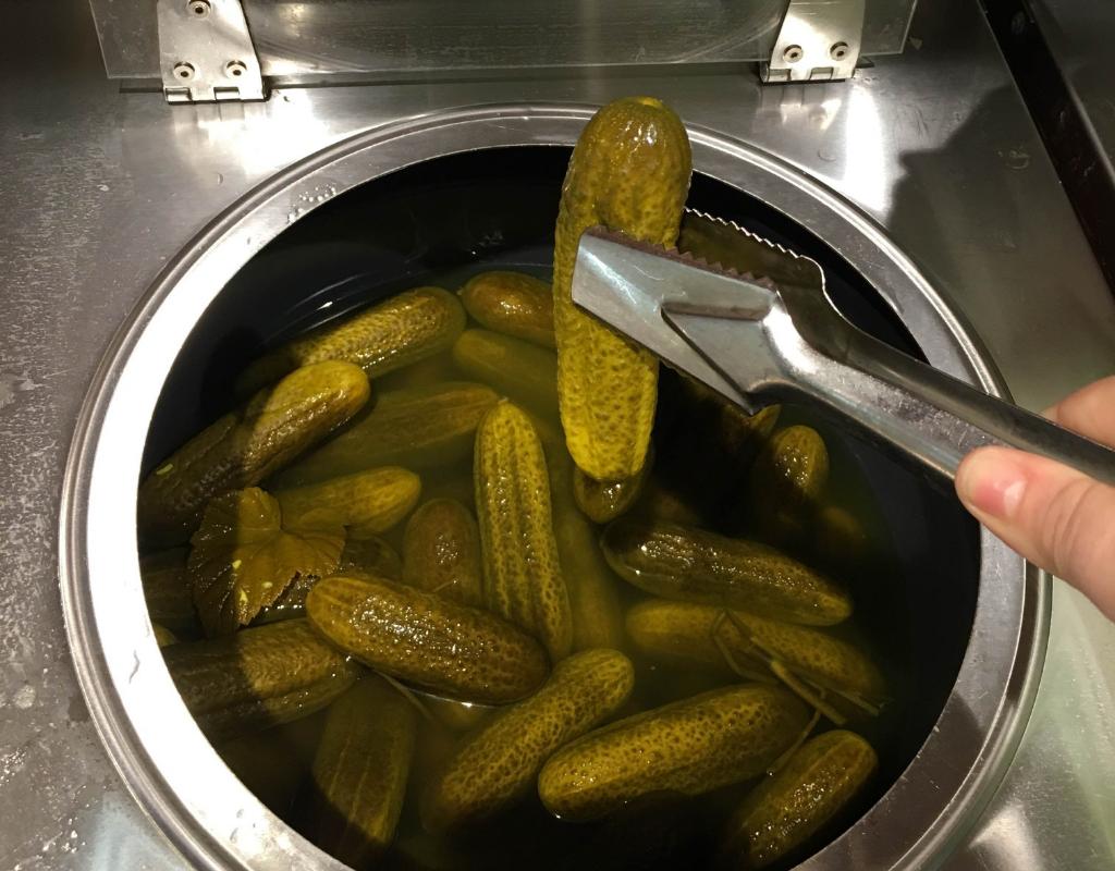 Pickles in Helsinki, Finland