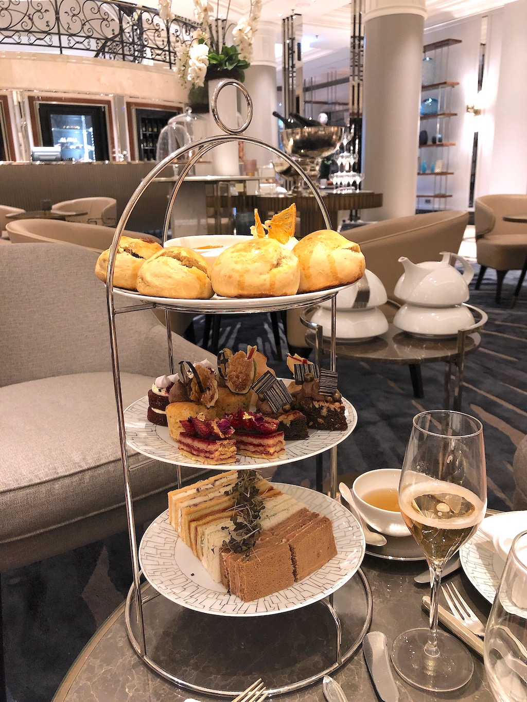 Afternoon Tea at the Ritz Carlton Berlin