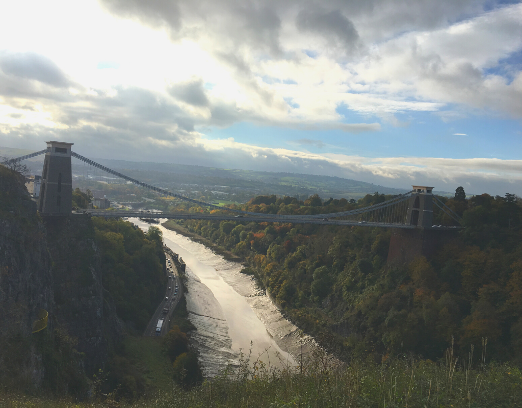 Bristol's Clifton Suspension Bridge mymicrogap