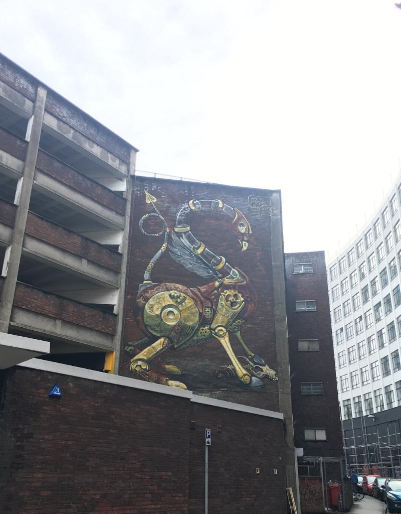 Pixel Pancho on Nelson Street