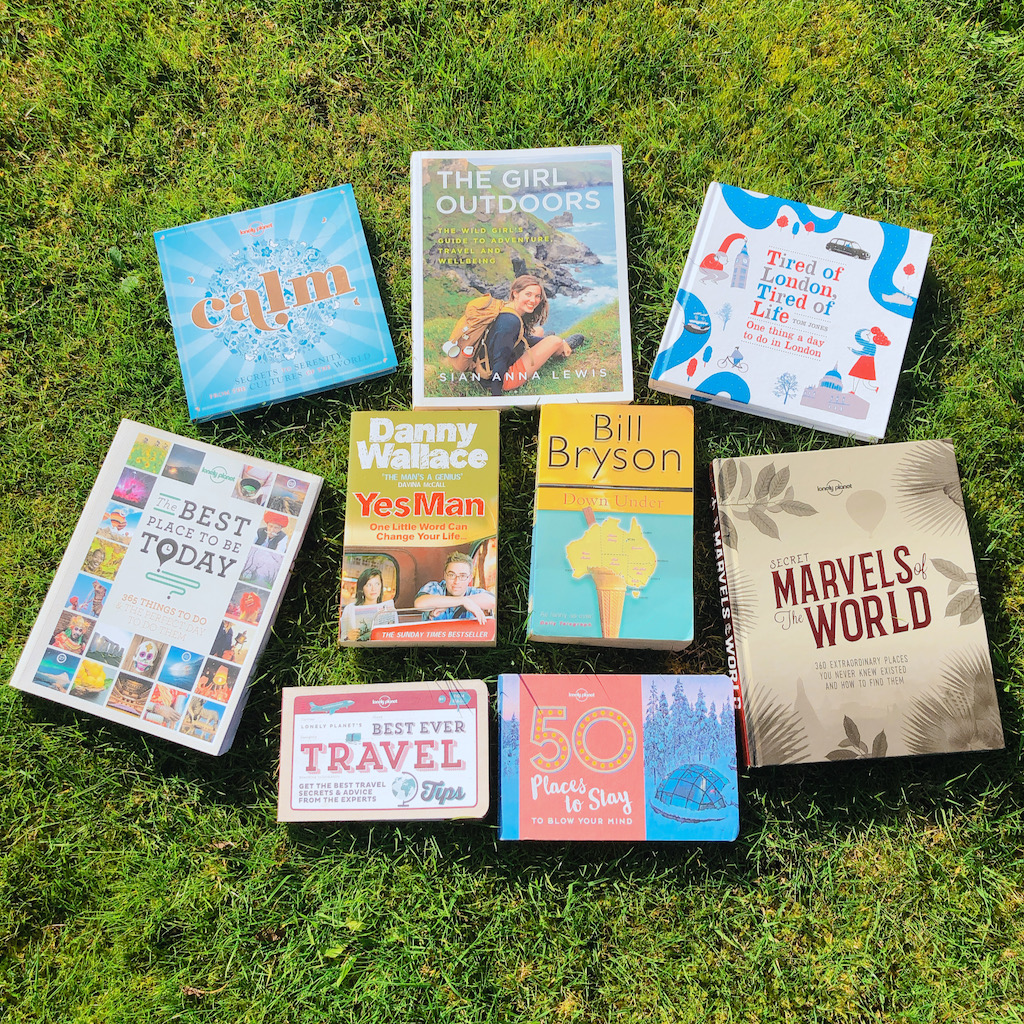 Books to inspire travel