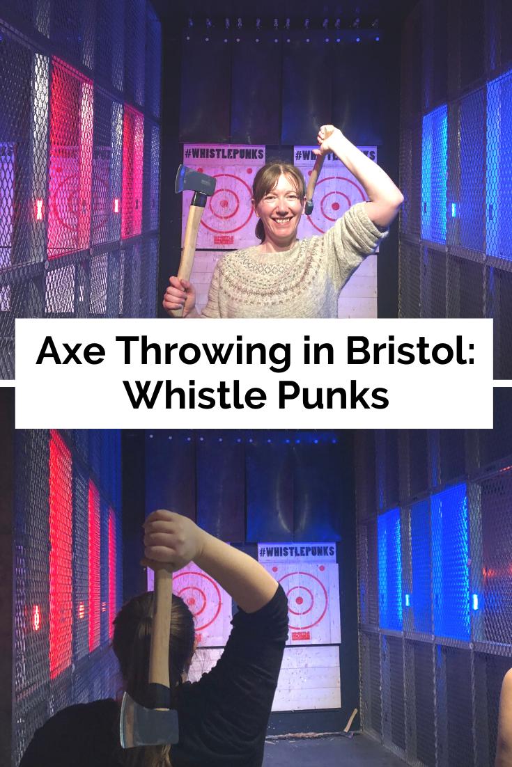 Bristol axe throwing - Whistle Punks
