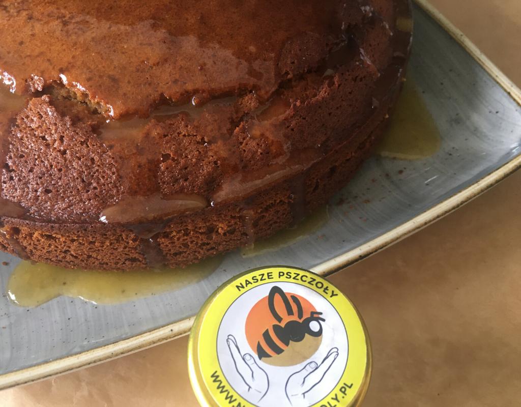 Polish honey glaze