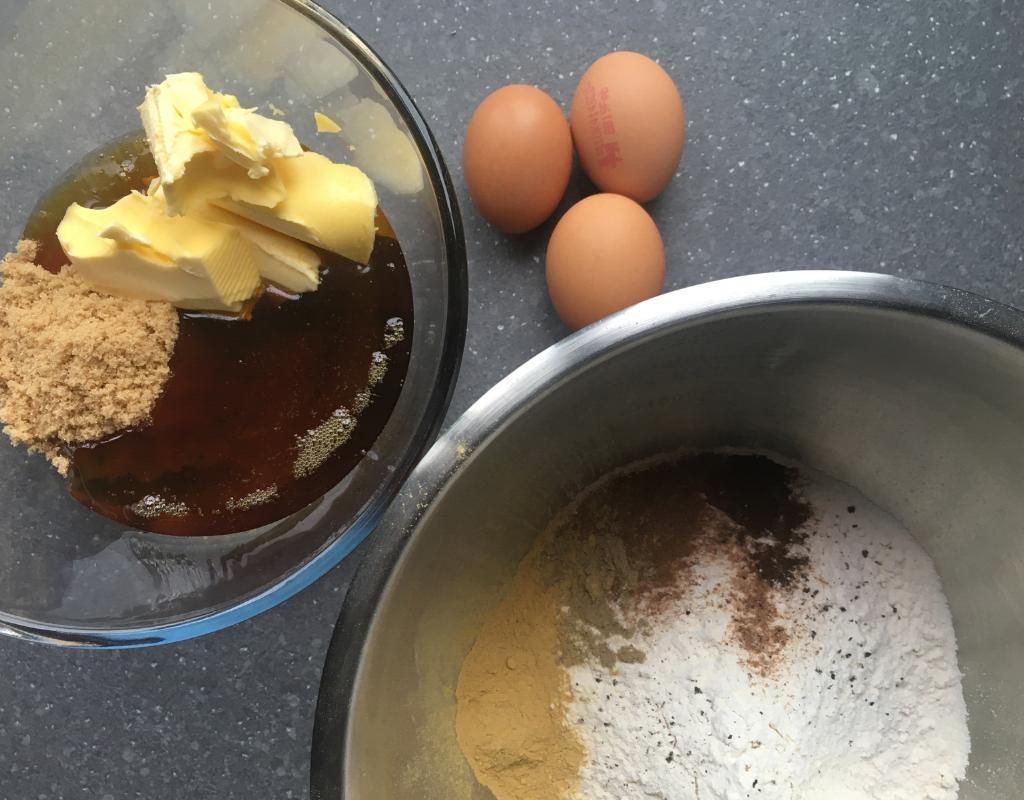 Piernik - Polish gingerbread ingredients