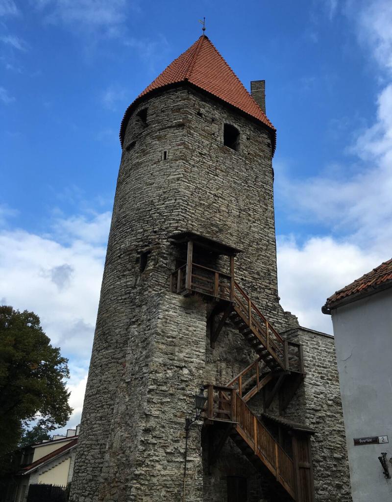 Tallinn's Old Town Wall