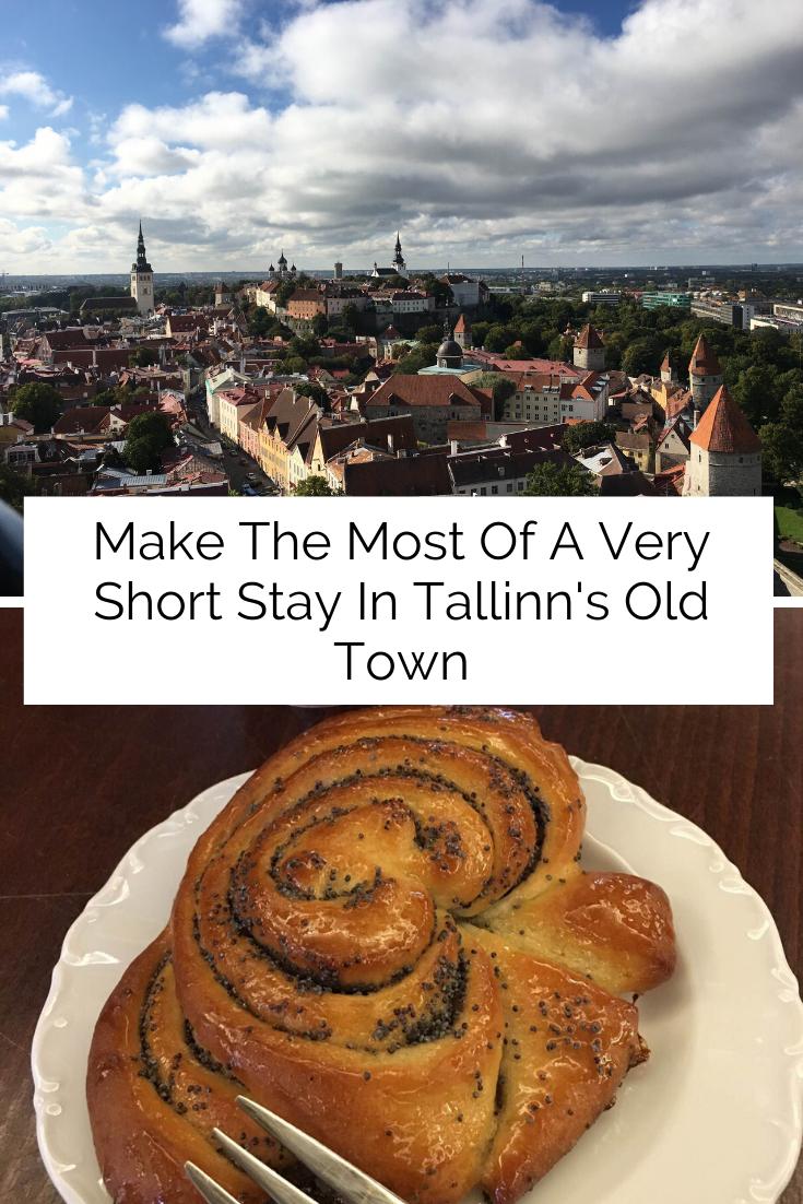 A very quick trip to Tallinn, Estonia