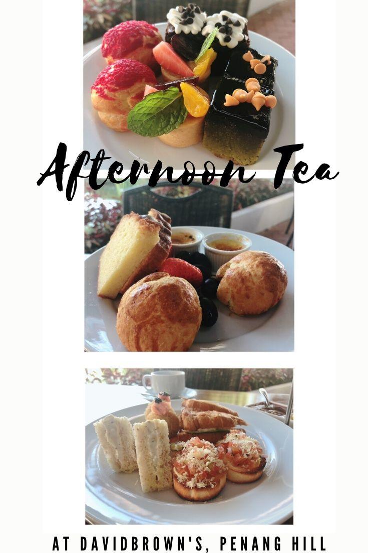 Afternoon Tea at David Brown, Penang Hill