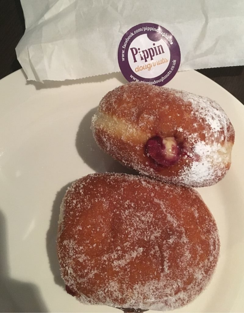 The humble jam doughnut