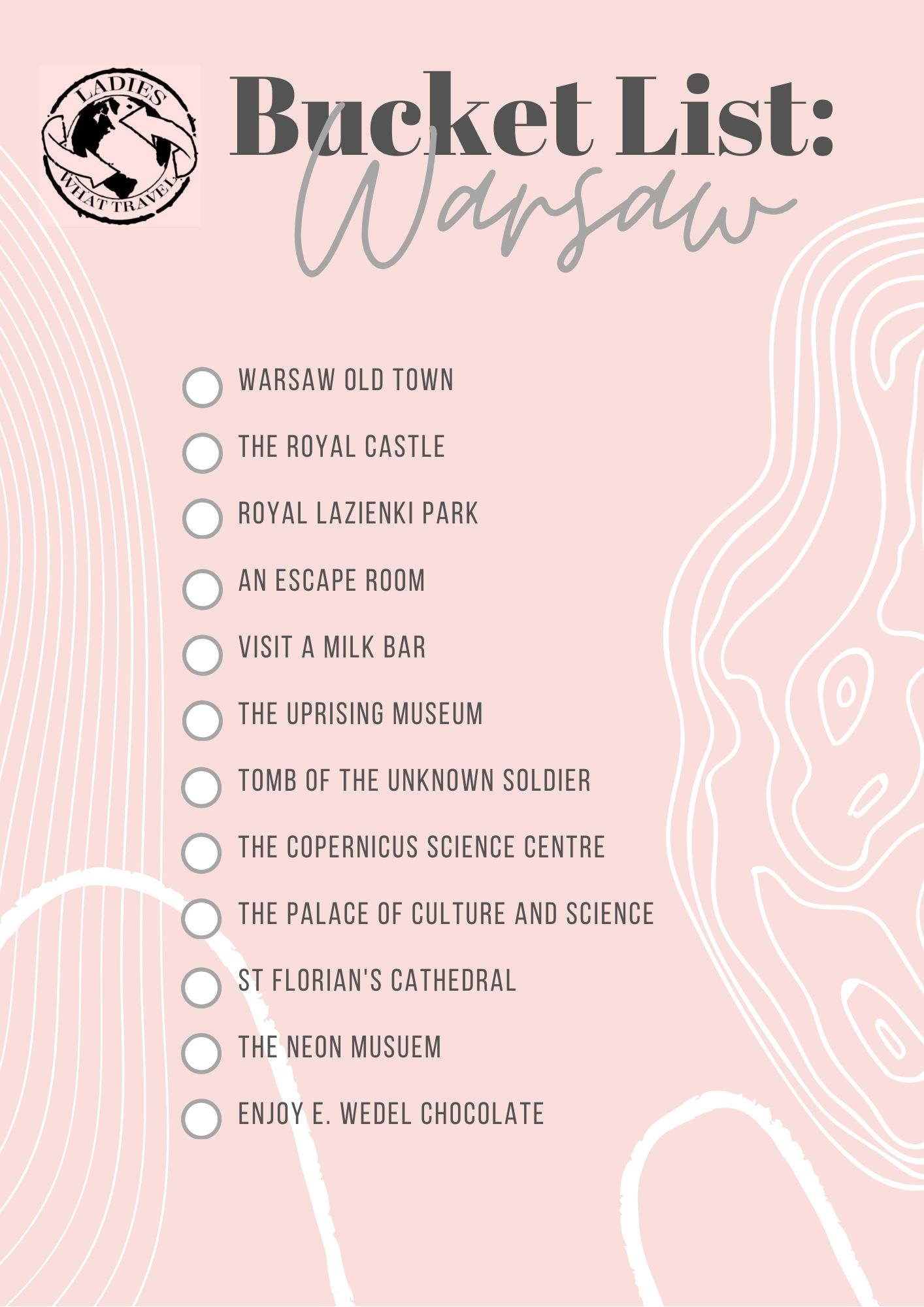 things to do in warsaw