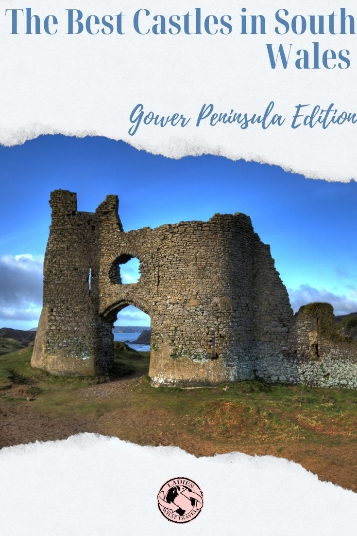 Castles in south wales - gower peninsula