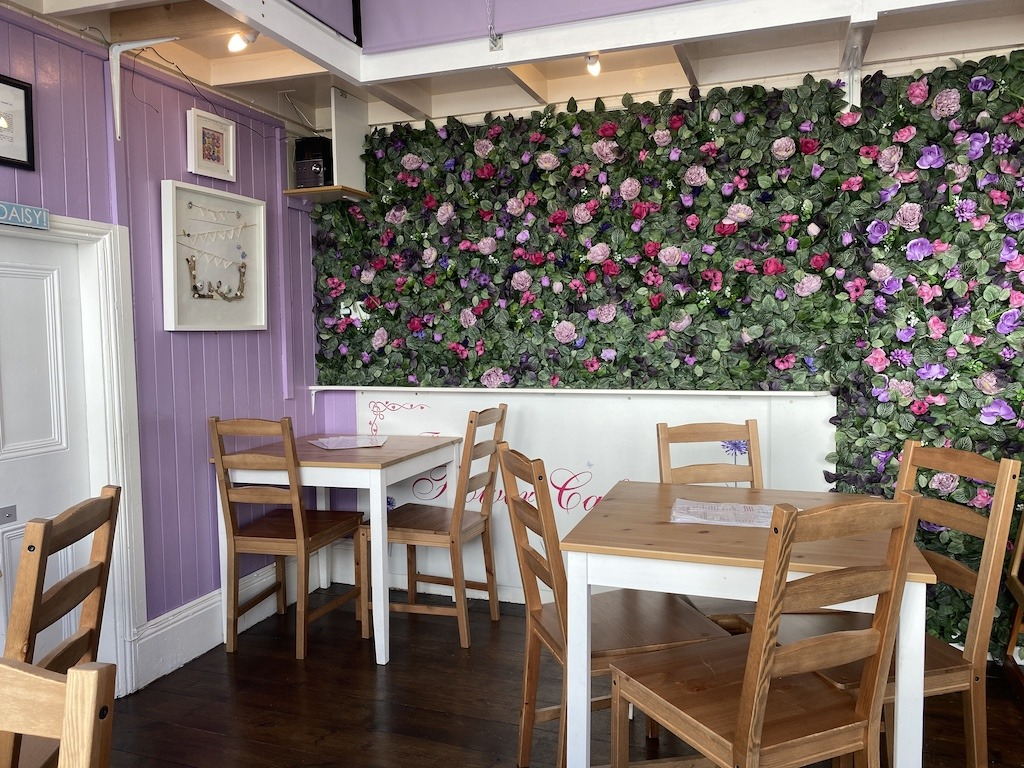 Afternoon Tea in Plymouth at The Flower Café